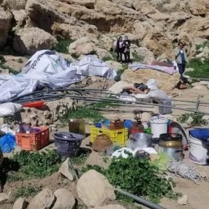 Palestinian Family Displacement