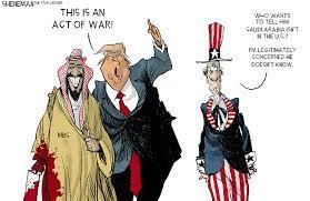 Trump diplomacy in the Middle East | Sheneman cartoon - nj.com